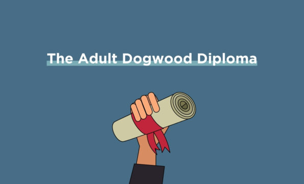 Describe the Adult Dogwood Diploma in BC