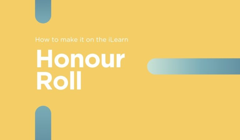 Honour Roll requirements at iLearn